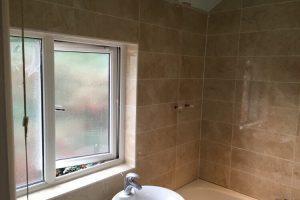 Thrapston Tiling bathroom after